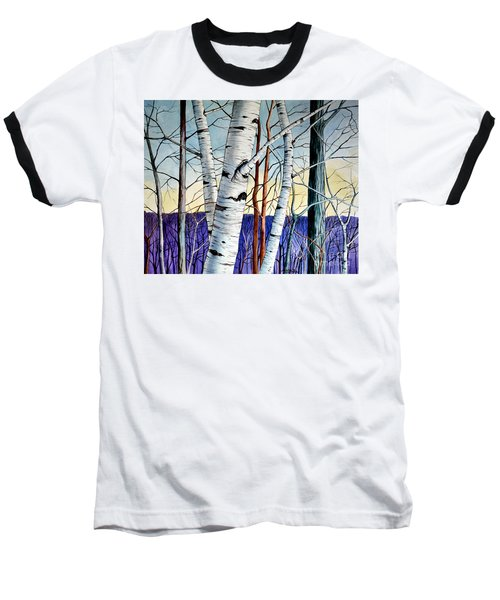 Forest Of Trees Baseball T-Shirt