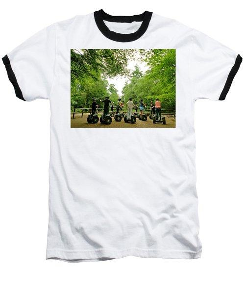 Forest Segway Baseball T-Shirt