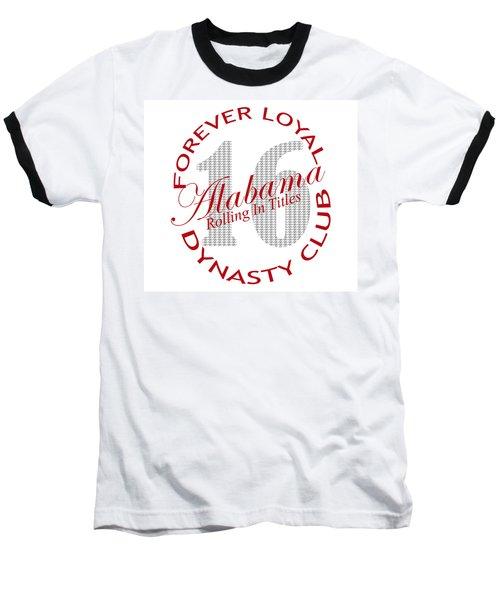 Baseball T-Shirt featuring the digital art Forever Loyal Dynasty Club by Greg Sharpe