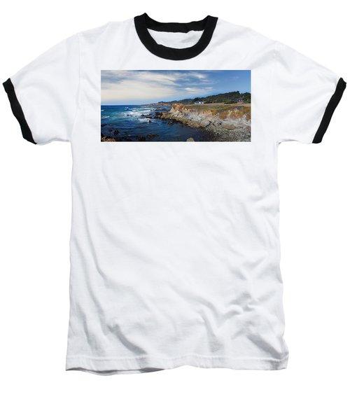 Fort Bragg Mendocino County California Baseball T-Shirt by Wernher Krutein
