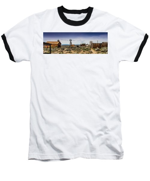 Fort Rock Museum Baseball T-Shirt