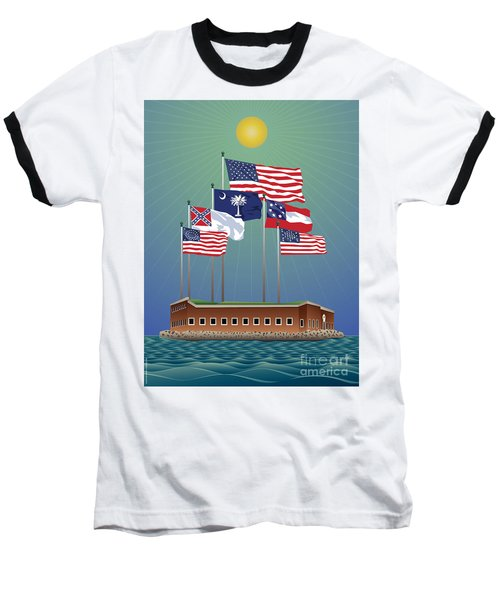 Fort Sumter, Charleston, Sc Baseball T-Shirt