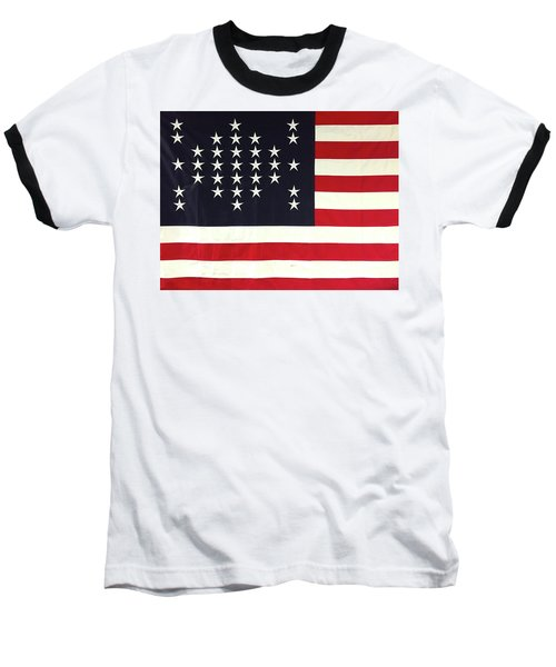 Fort Sumter Flag Baseball T-Shirt