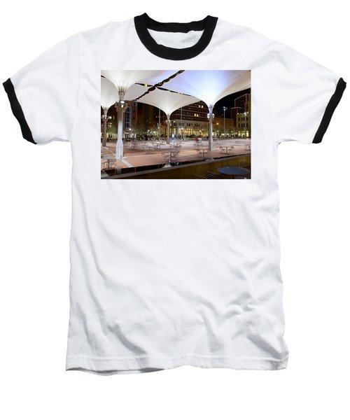 Fort Worth Sundance Square Baseball T-Shirt