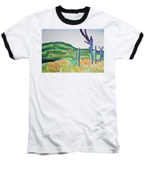Four Dead Trees After Edward Hopper Baseball T-Shirt
