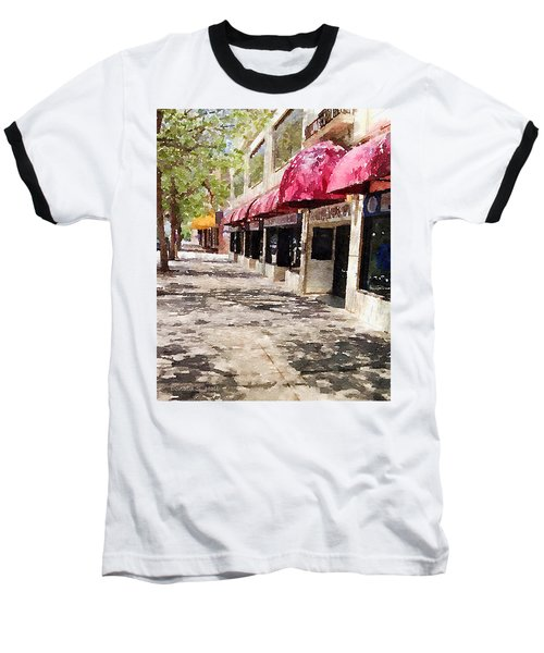 Fourth Avenue Baseball T-Shirt by Donald S Hall