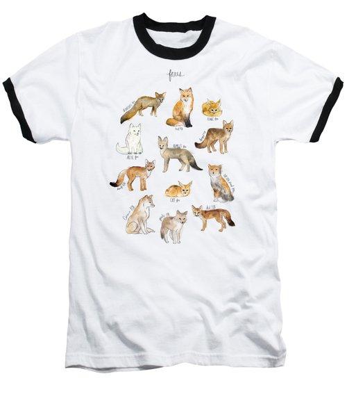 Foxes Baseball T-Shirt