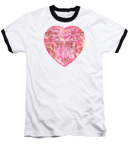 Fracked Heart Baseball T-Shirt