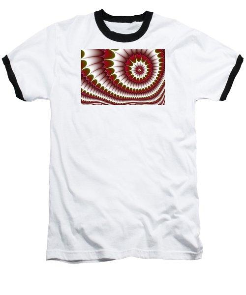 Baseball T-Shirt featuring the digital art Fractal 634 by Charmaine Zoe