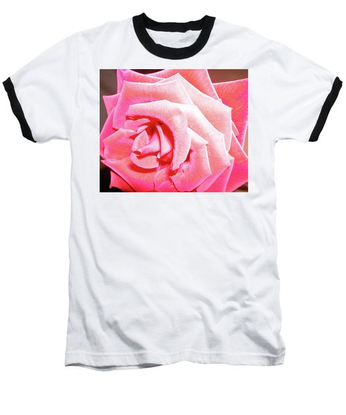 Baseball T-Shirt featuring the photograph Fragrant Rose by Marie Hicks