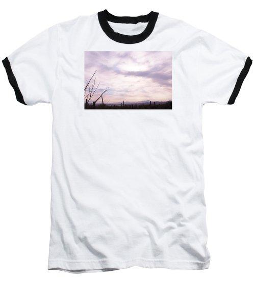 Framed Cloud Baseball T-Shirt