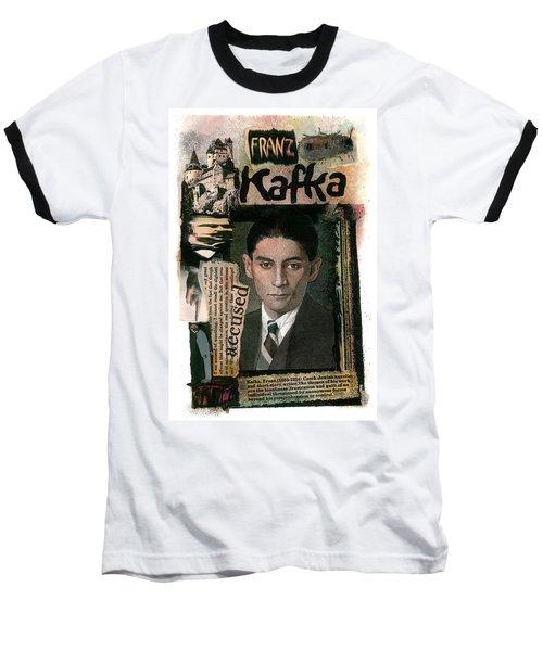 Franz Kafka Baseball T-Shirt