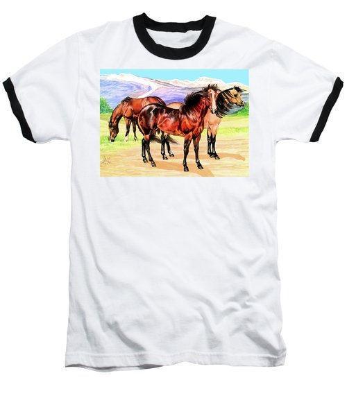 Free Range Baseball T-Shirt