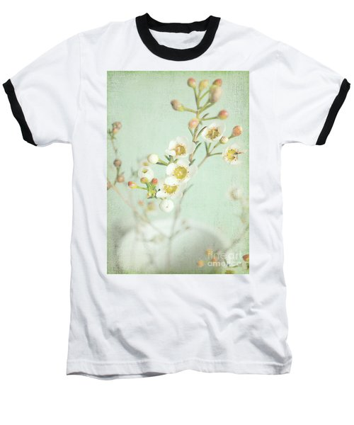 Freesia Blossom Baseball T-Shirt by Lyn Randle