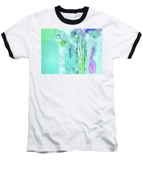 Baseball T-Shirt featuring the digital art French Still Life - 14b by Variance Collections