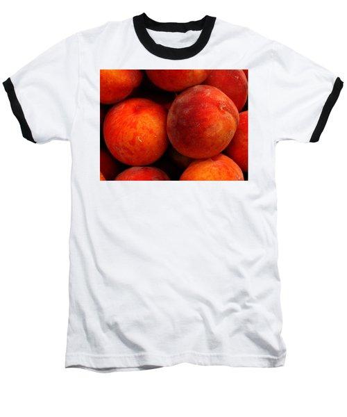 Fresh Fuzzy Peaches Baseball T-Shirt