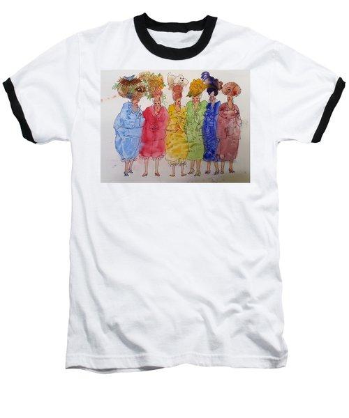 The Crazy Hat Society Baseball T-Shirt