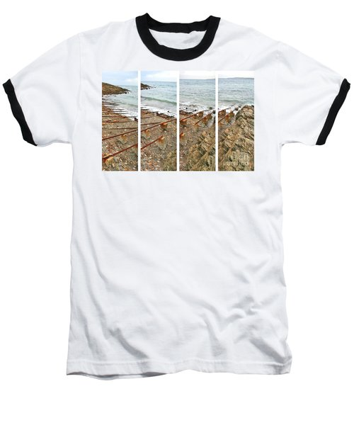 Baseball T-Shirt featuring the photograph From Ship To Shore by Stephen Mitchell