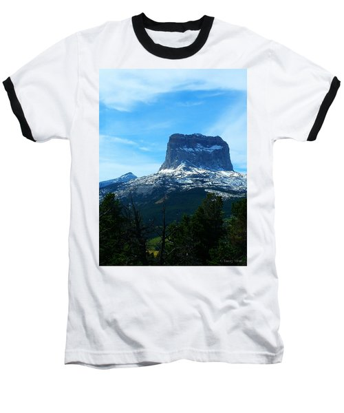 Frosty Chief Mountain Baseball T-Shirt
