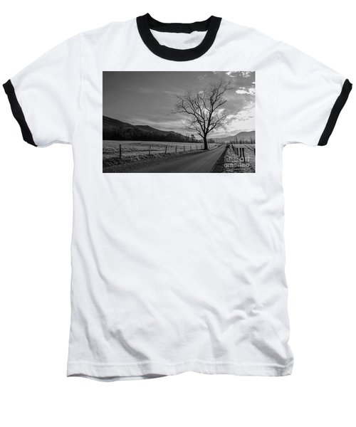 Frosty Morn Baseball T-Shirt by Marilyn Carlyle Greiner