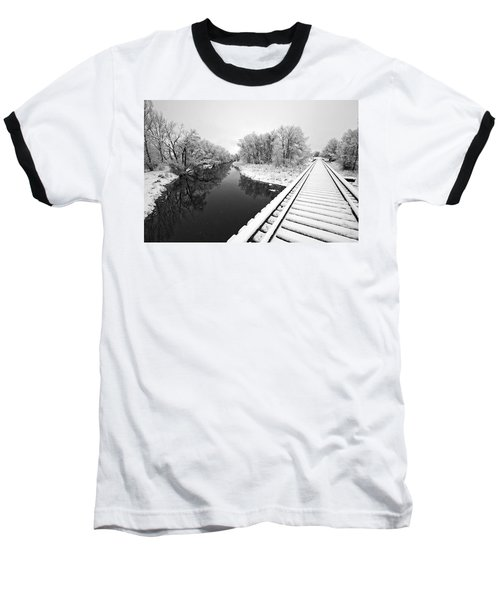Baseball T-Shirt featuring the photograph Frosty Morning On The Poudre by James Steele
