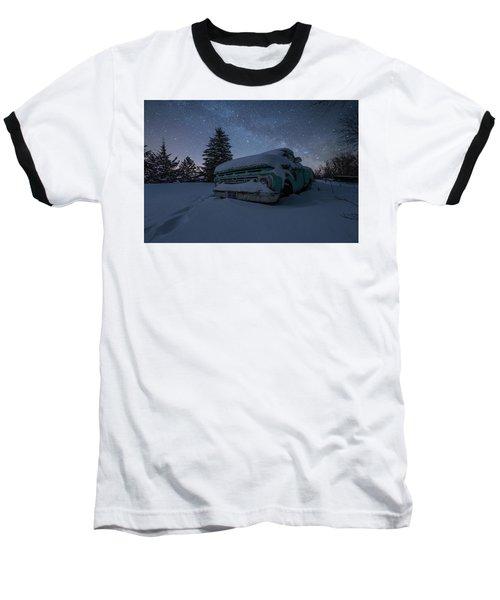 Baseball T-Shirt featuring the photograph Frozen Rust  by Aaron J Groen