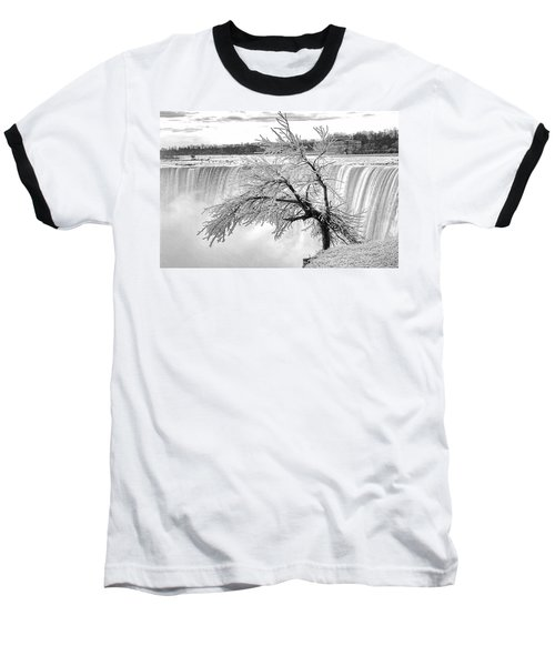 Frozen Tree Near Niagara Falls Baseball T-Shirt