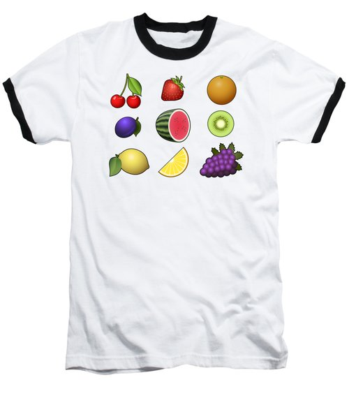 Fruits Collection Baseball T-Shirt