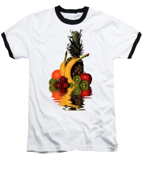 Fruity Reflections - Dark Baseball T-Shirt by Shane Bechler