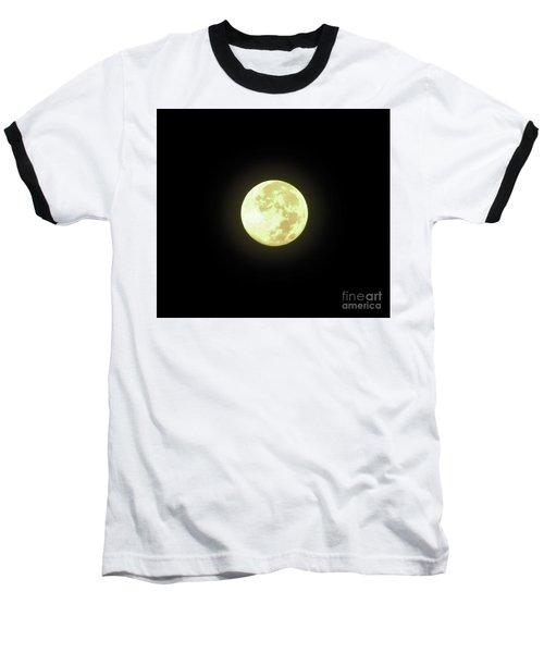 Full Moon August 2014 Baseball T-Shirt