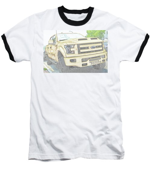 Baseball T-Shirt featuring the photograph Full Sized Toy Truck by John Schneider