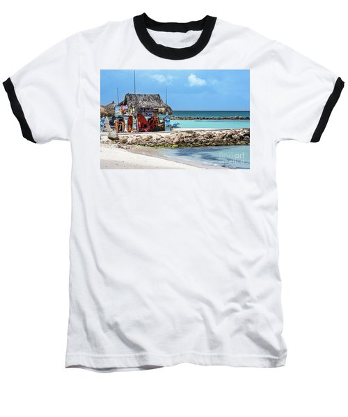 Baseball T-Shirt featuring the photograph Fun In The Sun by Judy Wolinsky