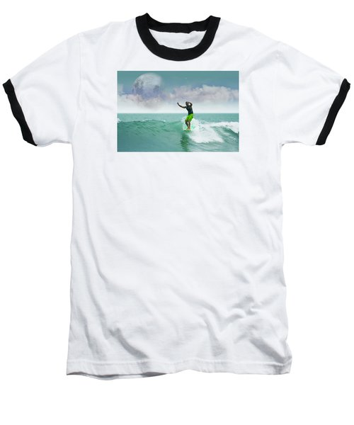Funday Sunday Baseball T-Shirt by William Love