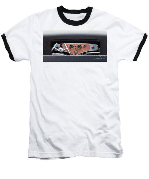 Baseball T-Shirt featuring the photograph Funny Car Dash by Chris Dutton