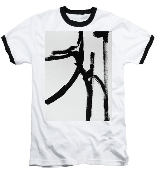 Baseball T-Shirt featuring the painting Gamut by Robin Maria Pedrero