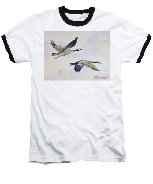 Baseball T-Shirt featuring the painting Gander by Stan Tenney