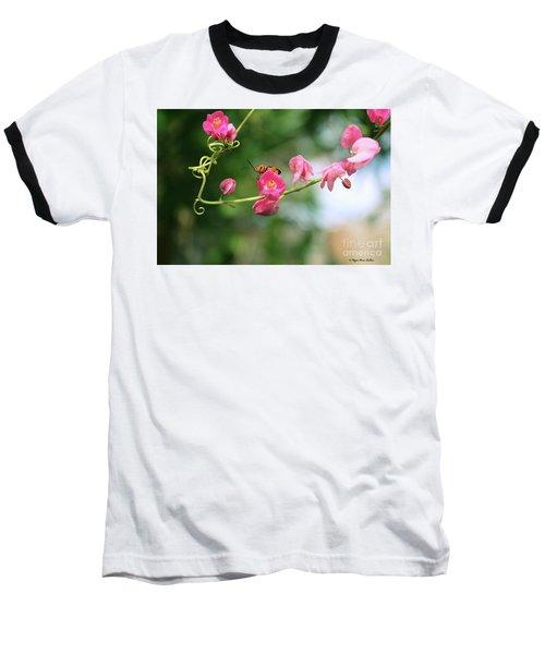 Baseball T-Shirt featuring the photograph Garden Bug by Megan Dirsa-DuBois