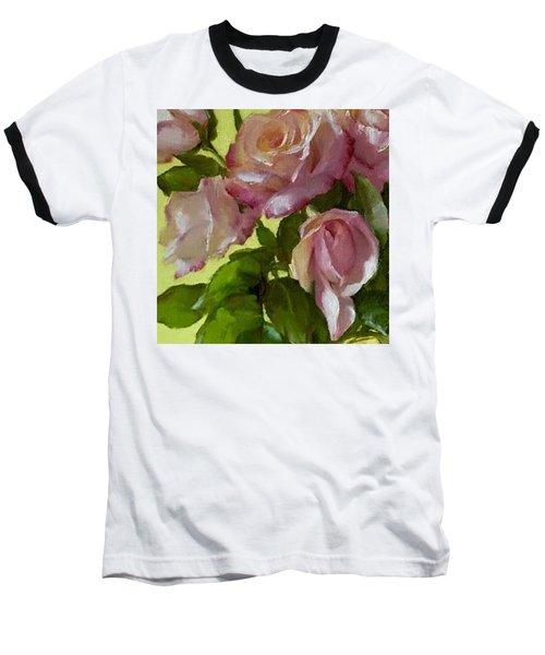 Garden Elegance Detail Image Baseball T-Shirt
