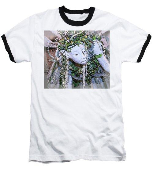 Garden Fairy Baseball T-Shirt by Patrice Zinck