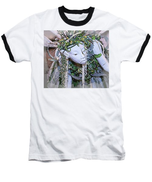 Garden Fairy Baseball T-Shirt