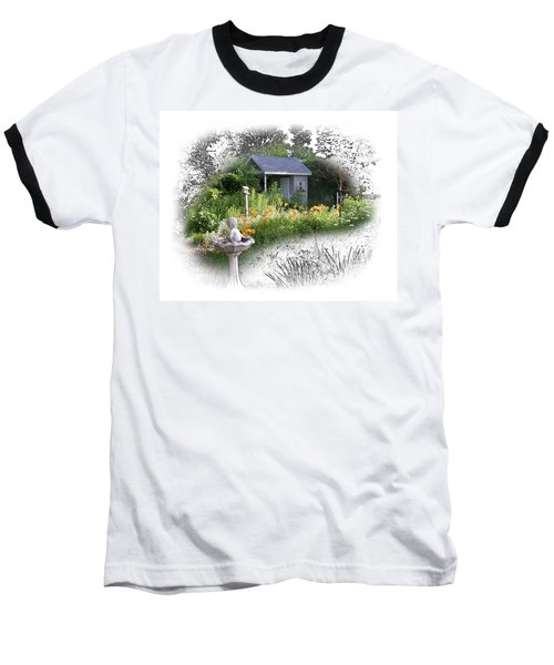 Garden House Baseball T-Shirt