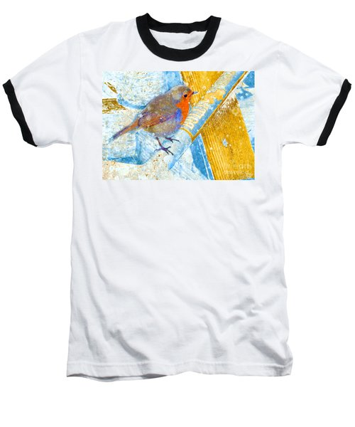 Garden Robin Baseball T-Shirt