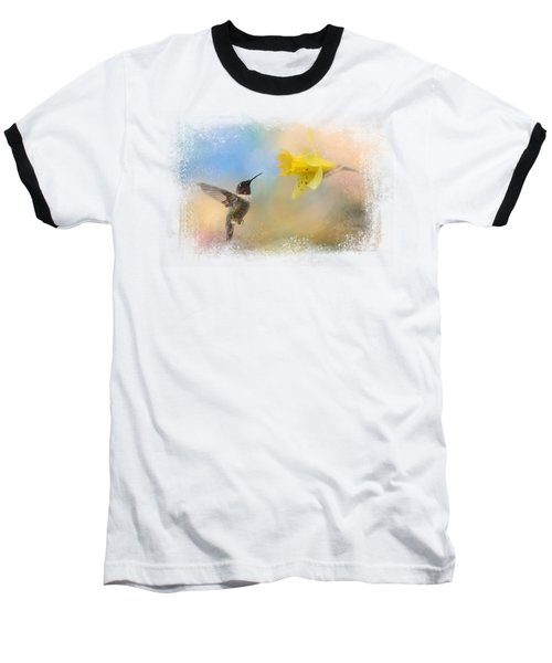 Garden Visitor Baseball T-Shirt