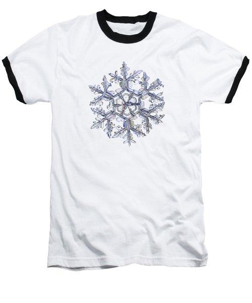 Gardener's Dream, White On Black Version Baseball T-Shirt