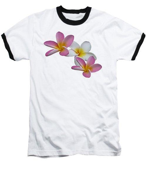 Frangipani Baseball T-Shirt