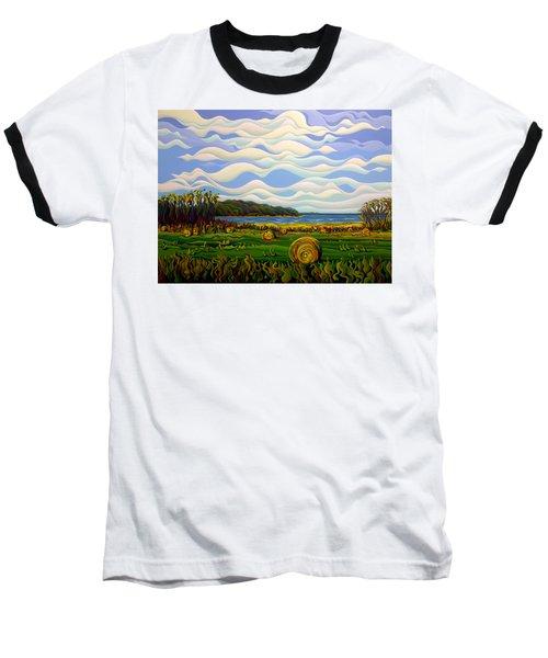 Gaspe's Grand Serenousphere Baseball T-Shirt