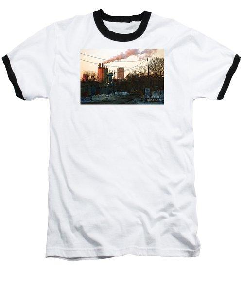 Gate 4 Baseball T-Shirt by David Blank