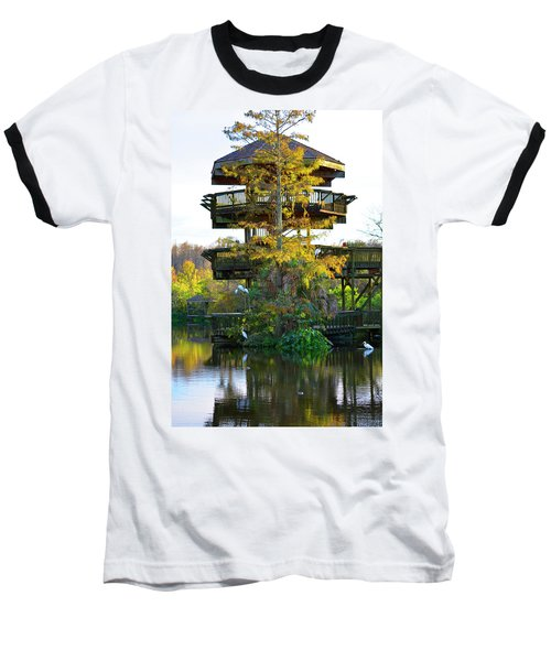 Gator Tower Baseball T-Shirt
