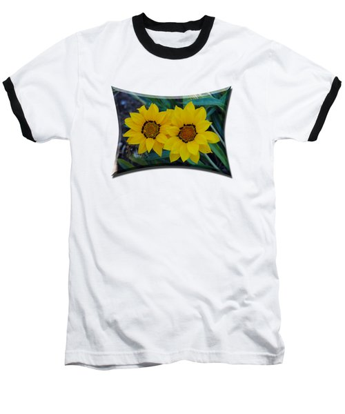 Gazania Rigens - Treasure Flower T-shirt Baseball T-Shirt
