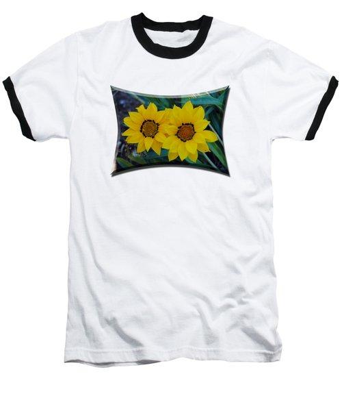 Gazania Rigens - Treasure Flower T-shirt Baseball T-Shirt